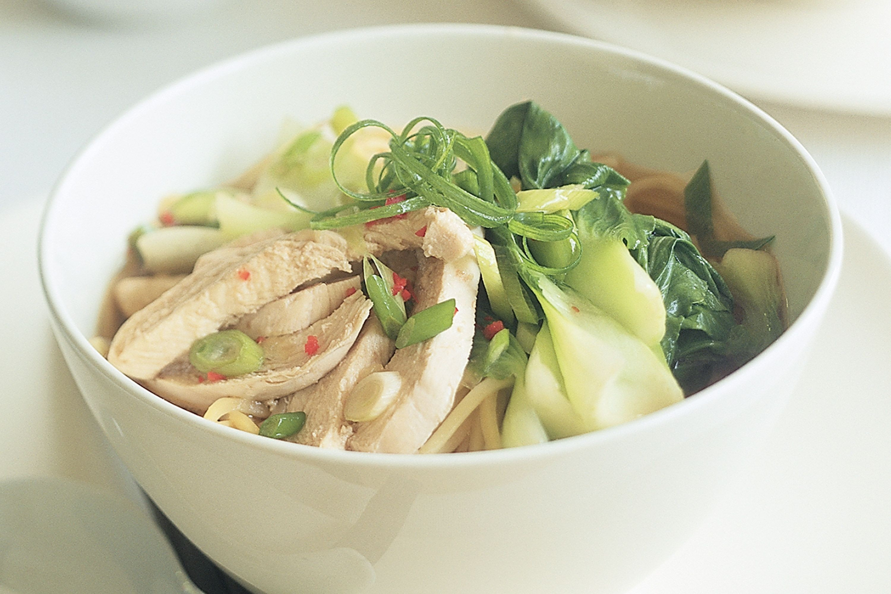 Asian Chicken Soup  asian chicken noodle soup cooking light