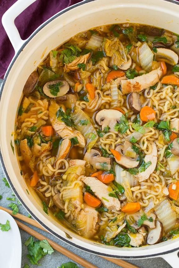 Asian Chicken Soup  asian chicken soup