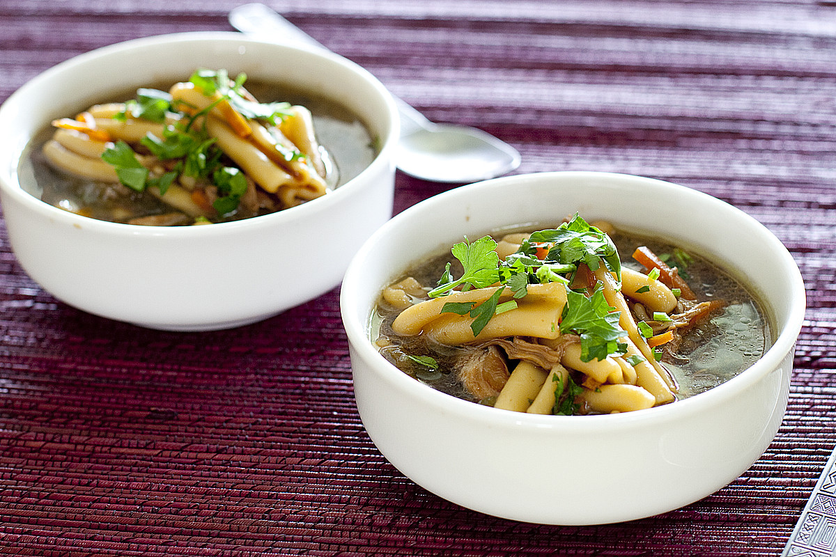 Asian Chicken Soup  Chinese Chicken Noodle Soup Recipe