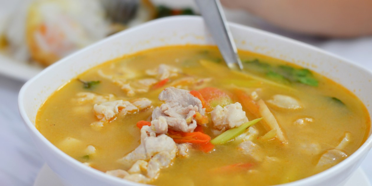 Asian Chicken Soup  Spicy Asian Chicken Soup recipe