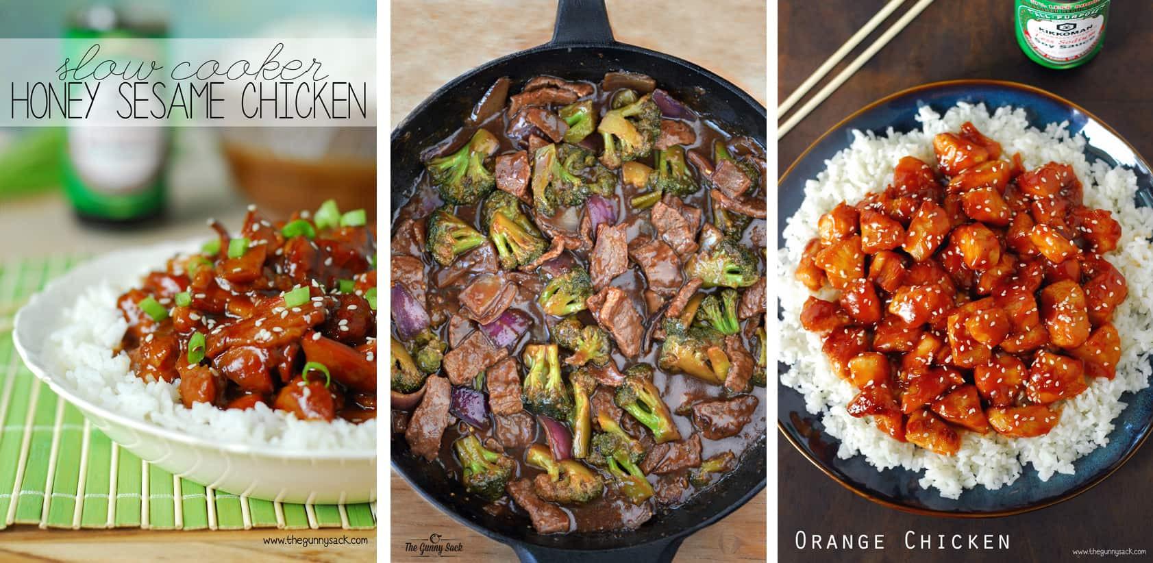 Asian Dinner Recipe  Chicken Stir Fry Recipe The Gunny Sack