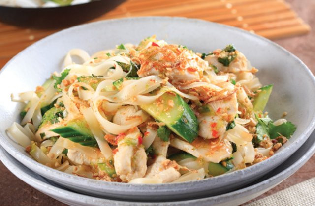 Asian Dinner Recipes  Chicken Pad Thai recipe Asian dinner ideas