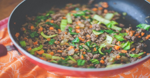 Asian Ground Beef Recipes  Asian Style Ground Beef With Ve ables Recipe Gutom Na