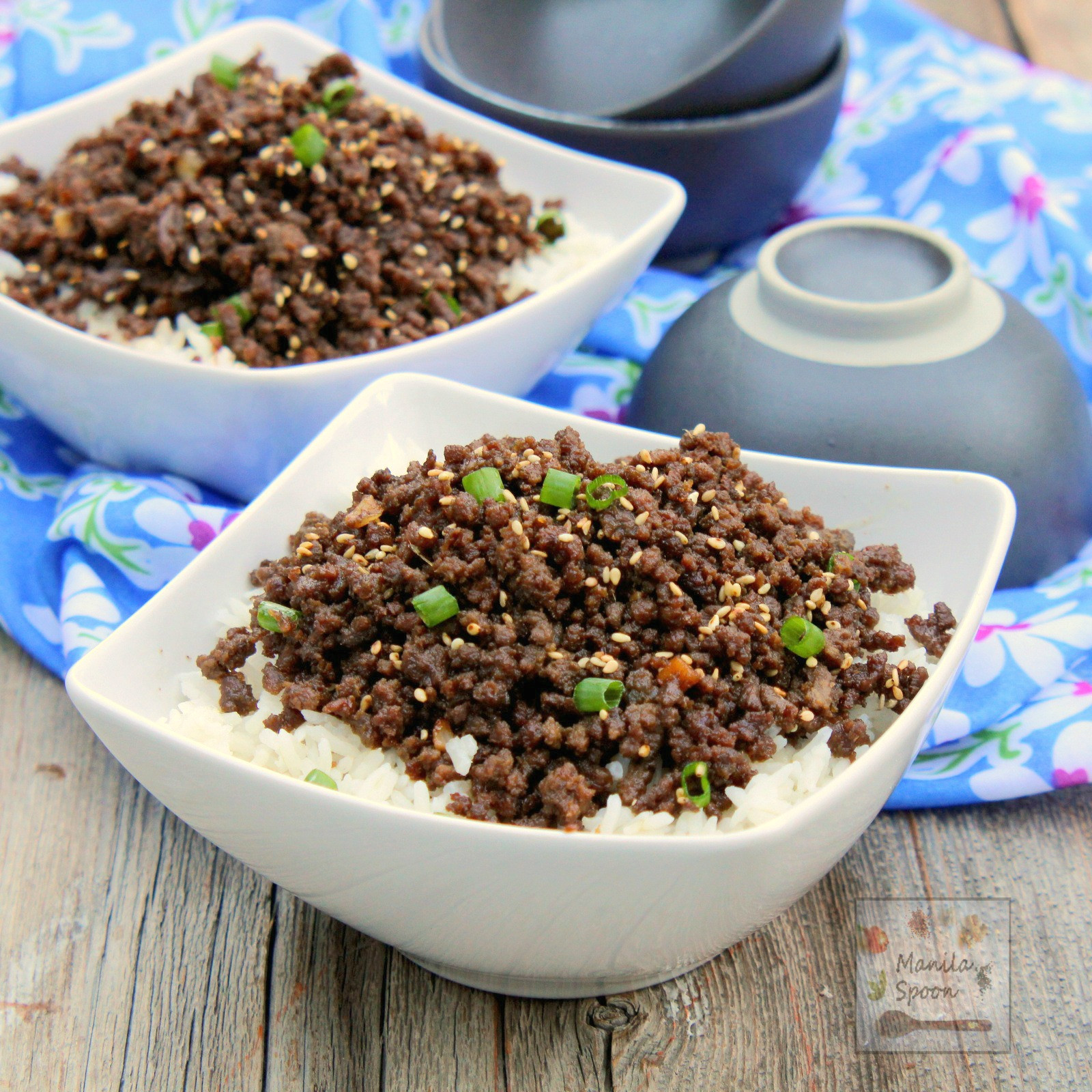 Asian Ground Beef Recipes  chinese ground beef recipe