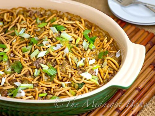 Asian Ground Beef Recipes  Chinese Ground Beef Casserole