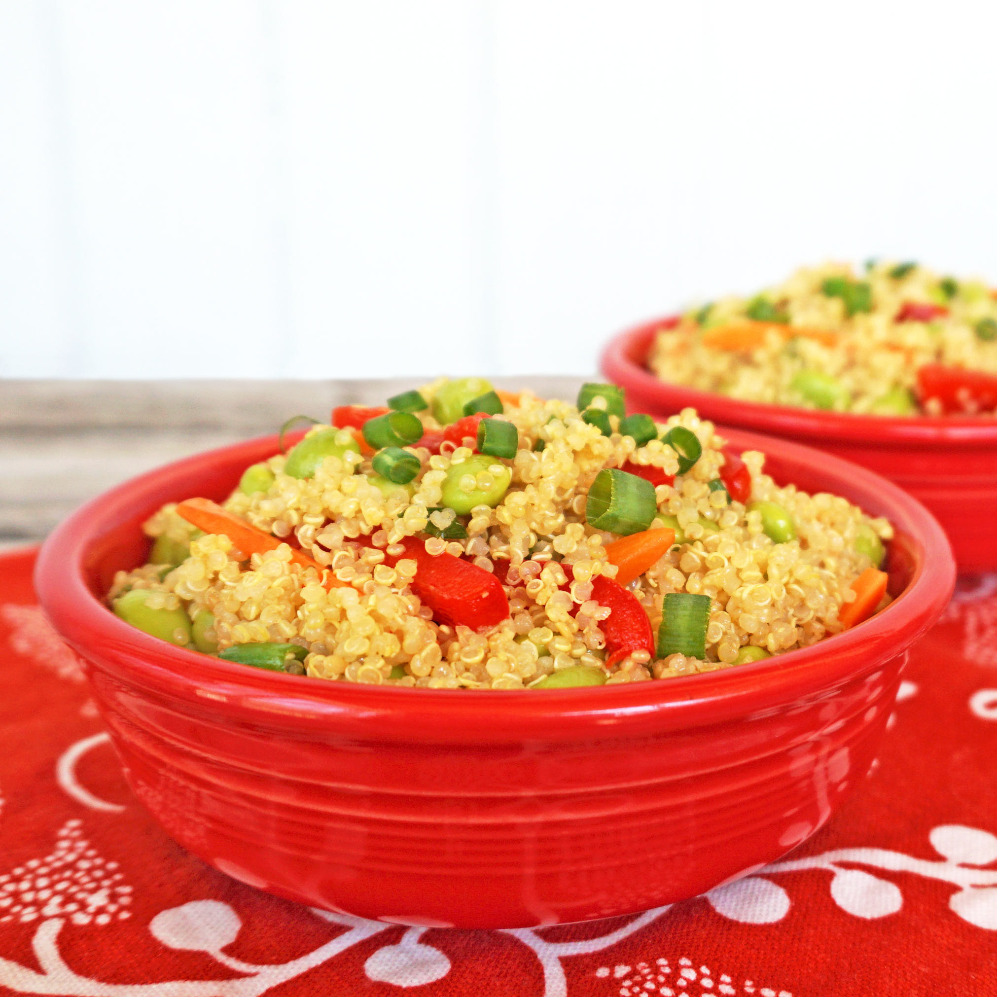 Asian Quinoa Salad  Asian Quinoa Salad Lorissa s Kitchen Joy Love Food