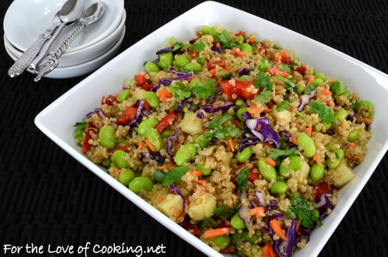 Asian Quinoa Salad  Asian Quinoa Salad
