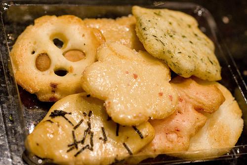 Asian Rice Crackers  Japanese Rice Crackers FoodMayhem