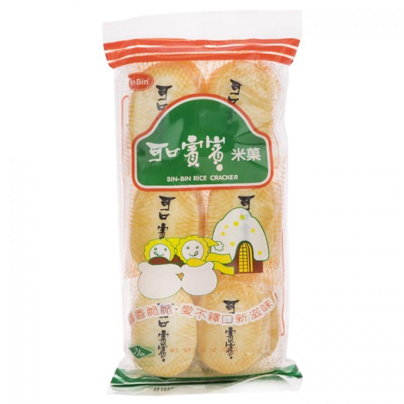 Asian Rice Crackers  Bin Bin Original Rice Crackers 4 3 oz Rice Crackers