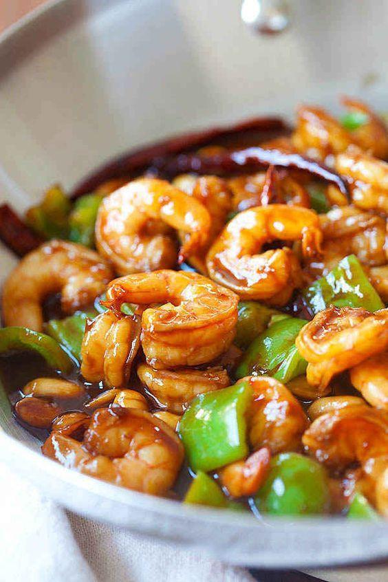 Asian Shrimp Recipes  100 Chinese prawn recipes on Pinterest
