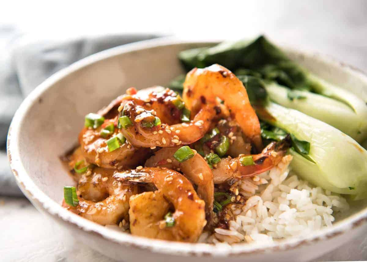 Asian Shrimp Recipes  Asian Chilli Garlic Prawns Shrimp
