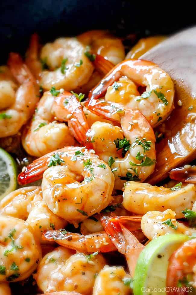 Asian Shrimp Recipes  Sweet Chili Shrimp grill or stovetop Carlsbad Cravings
