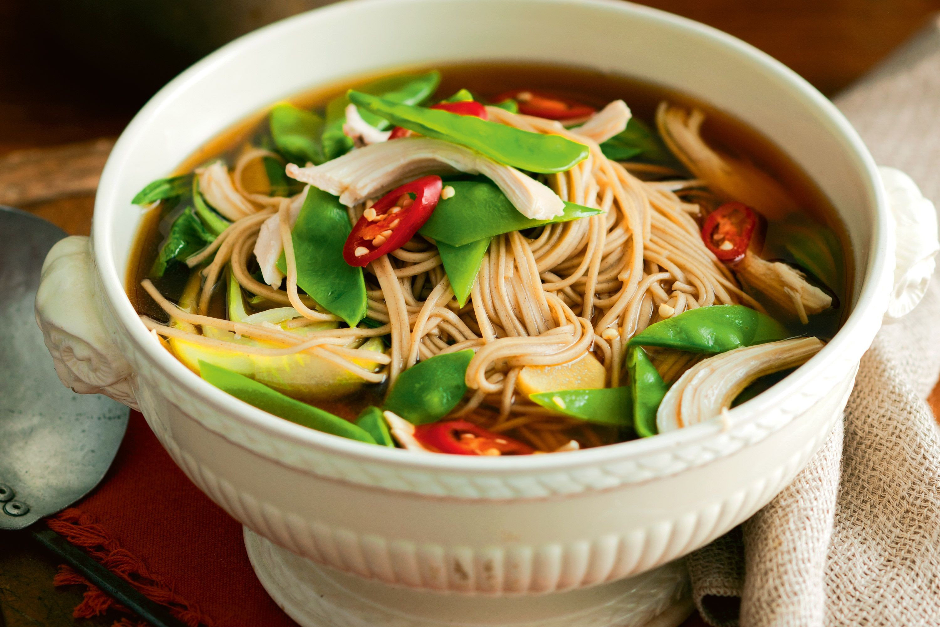Asian Soup Recipes  chinese noodle soup recipes