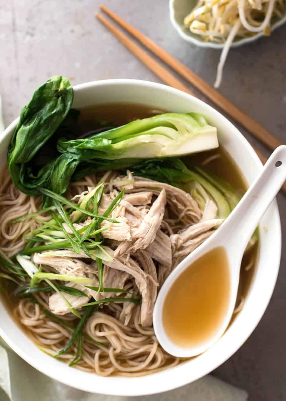 Asian Soup Recipes  Chinese Noodle Soup