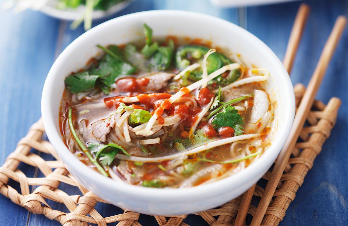 Asian Soup Recipes  15 Minute Asian Beef Soup Recipe
