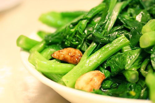 Asian Vegetable Recipes  Chinese Greens Yu Choy Stir Fry • Steamy Kitchen Recipes