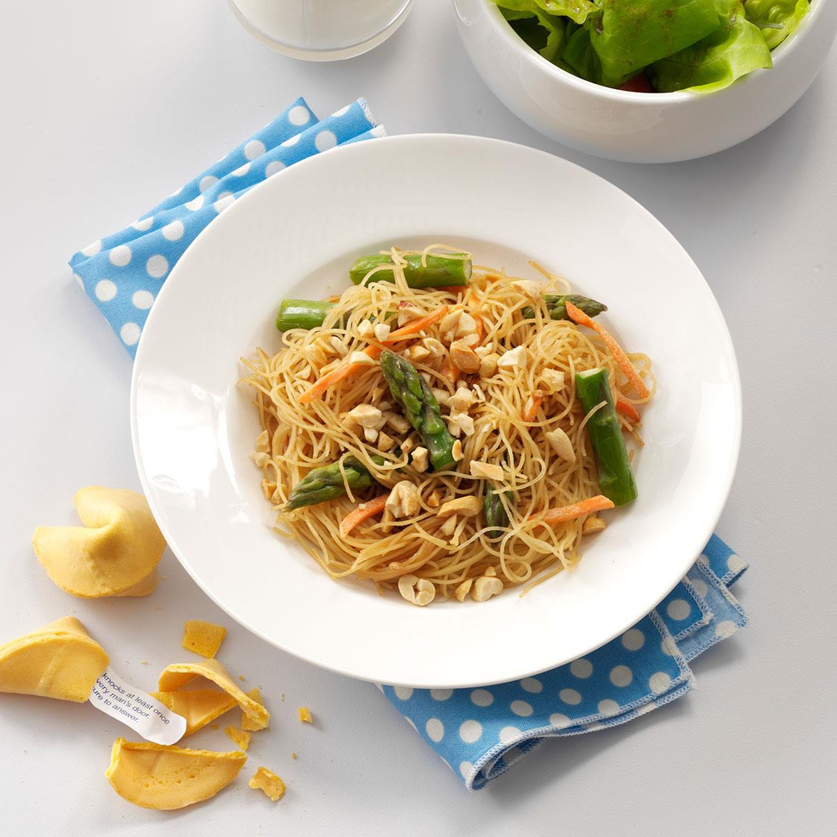 Asian Vegetable Recipes  Asian Ve able Pasta Recipe