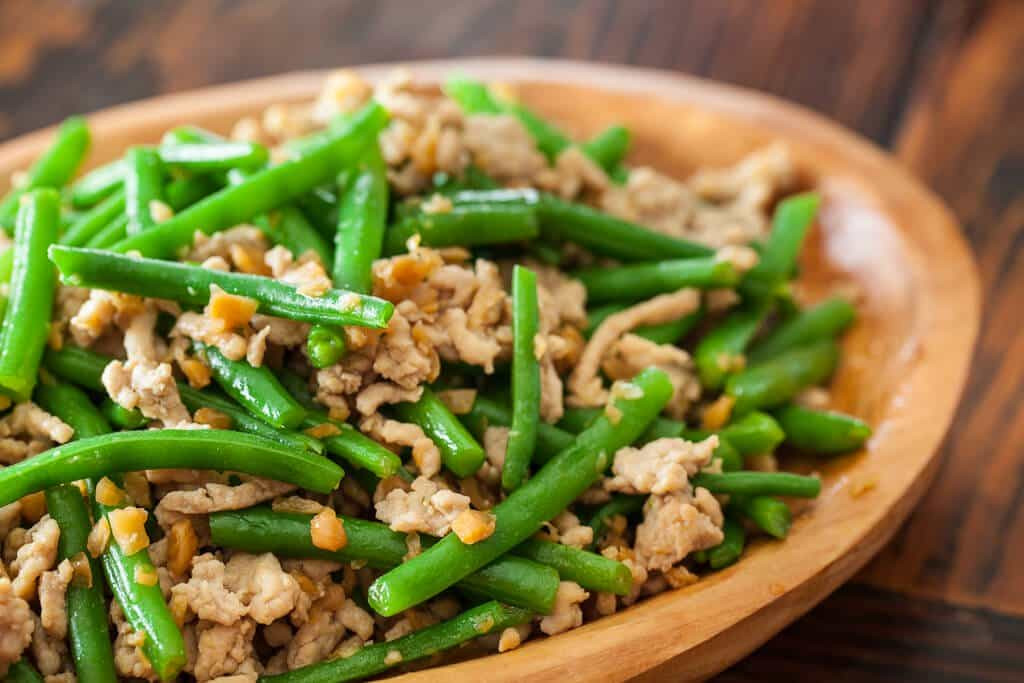 Asian Vegetable Recipes  Green Beans with Chinese Preserved Radish Stir Fry