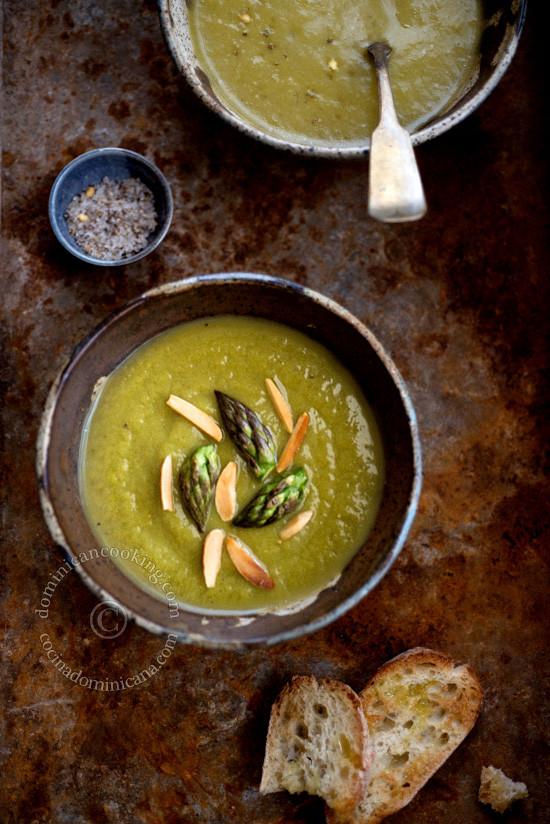 Asparagus Soup Vegan  Vegan asparagus soup recipe – Aunt Clara's Kitchen