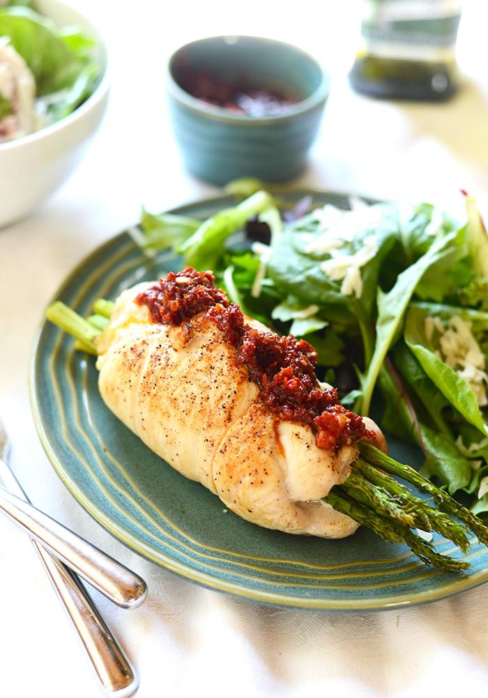 Asparagus Stuffed Chicken Breast  Prosciutto Asparagus Stuffed Chicken Breast Healthy