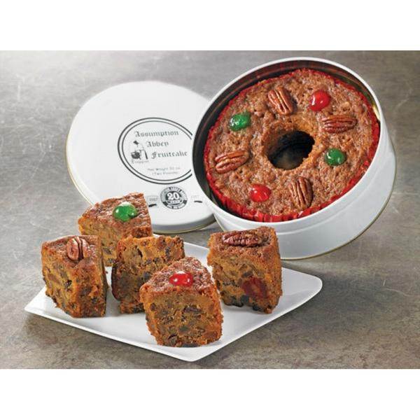 Assumption Abbey Fruitcake  The Taste of Tradition
