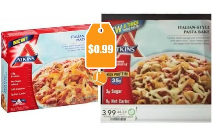 Atkins Frozen Dinners  Atkins Frozen Meals as low as $0 99 at Publix Living Rich
