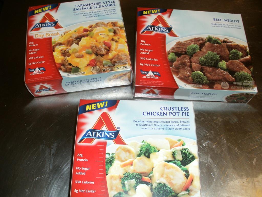 Atkins Frozen Dinners  GEDC0331