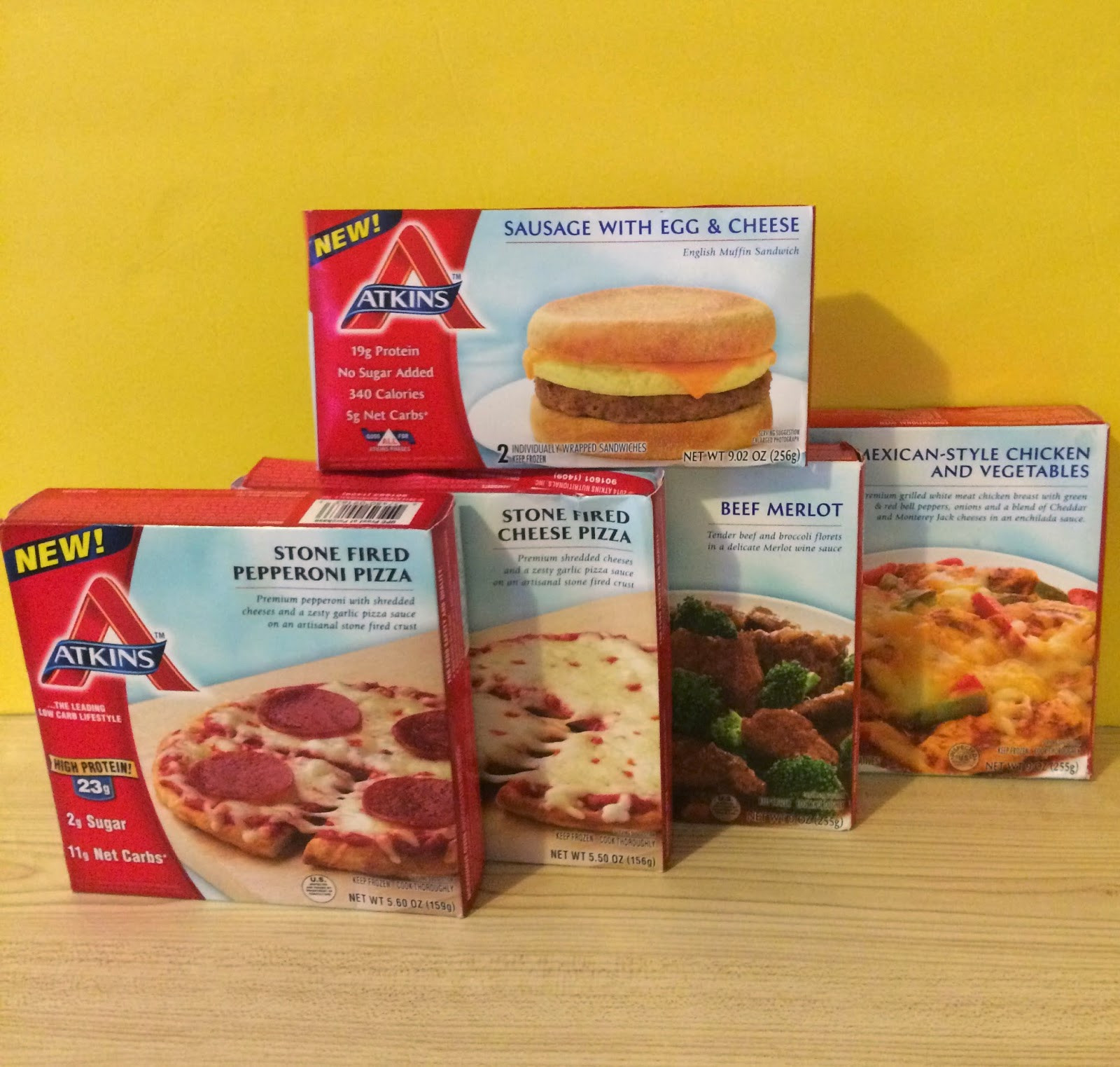 Atkins Frozen Dinners  Two Weeks on the Atkins 40 Atkins Frozen Meals First