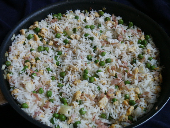 Authentic Chinese Fried Rice Recipe  Authentic Chinese Fried Rice Recipe Chinese Genius Kitchen