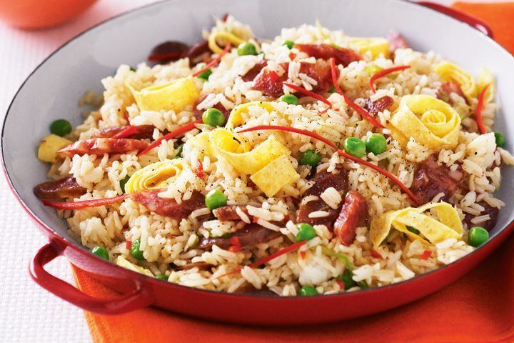 Authentic Chinese Fried Rice Recipe  Chinese fried rice