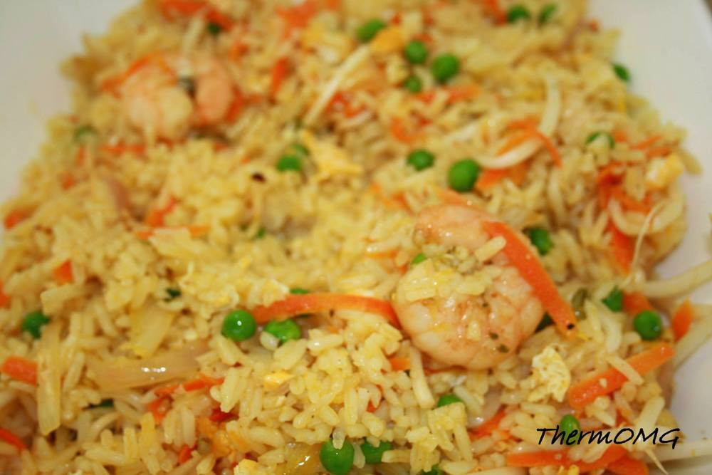 Authentic Chinese Fried Rice Recipe  Almost Authentic Chinese Fried Rice — ThermOMG