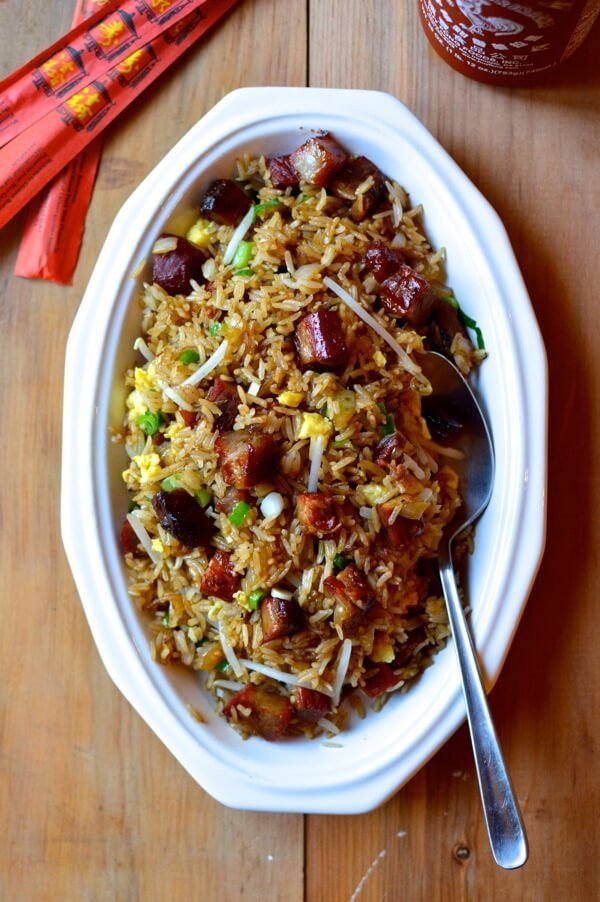 Authentic Chinese Fried Rice Recipe  authentic chinese pork fried rice recipe