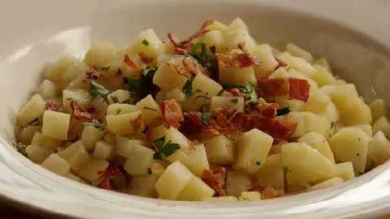 Authentic German Potato Salad Recipe  Authentic German Potato Salad Video Allrecipes