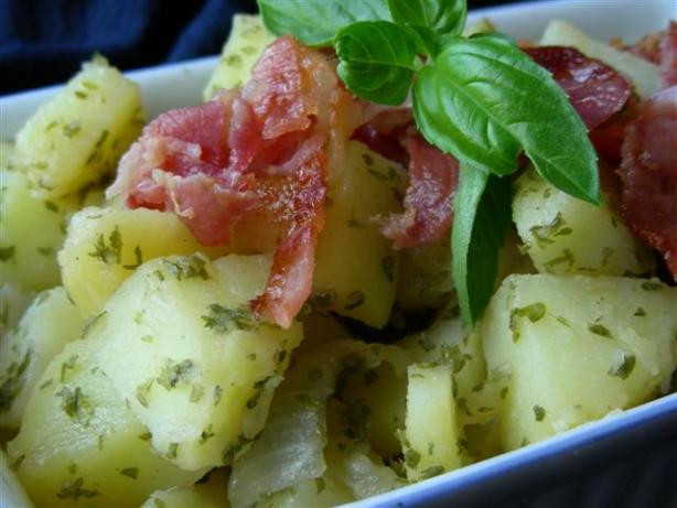 Authentic German Potato Salad Recipe  Authentic German Potato Salad Recipe Food