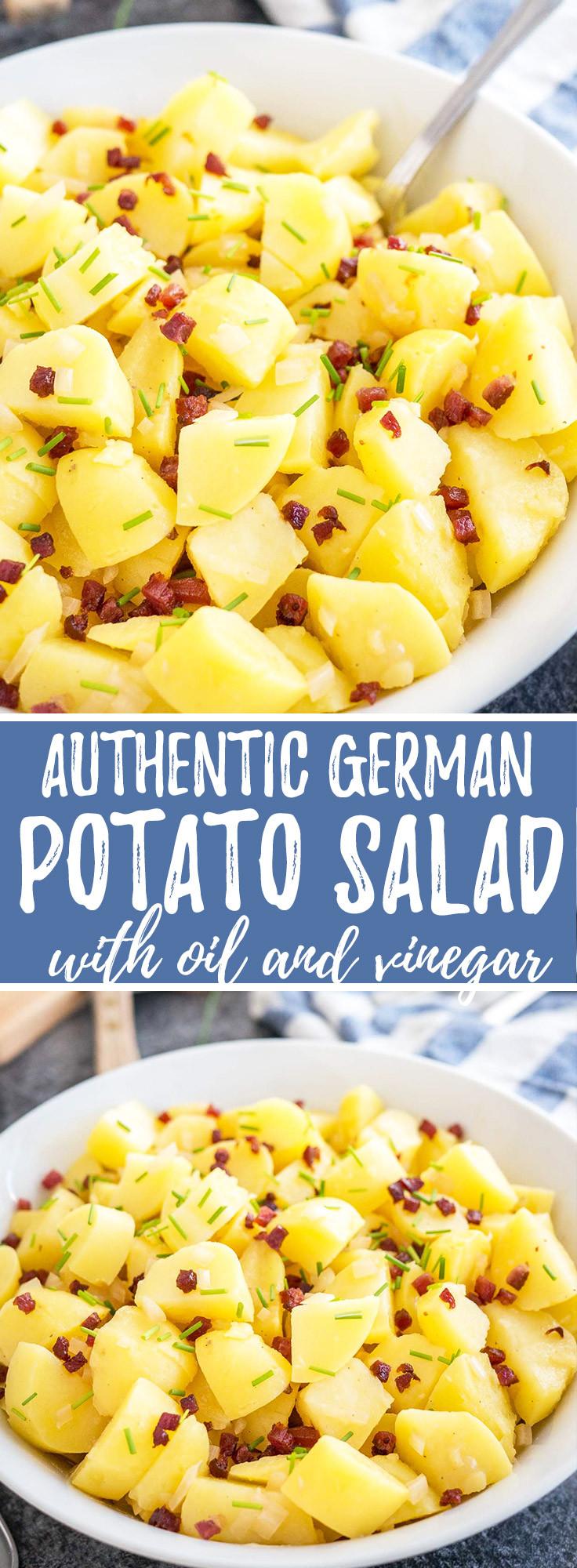 Authentic German Potato Salad Recipe  Authentic German Potato Salad