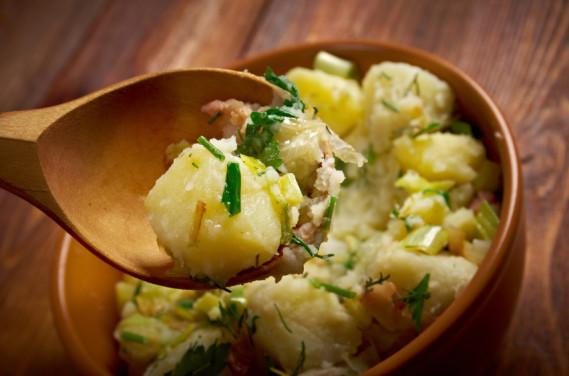 Authentic German Potato Salad Recipe  Authentic German Potato Salad Recipe MSGdish