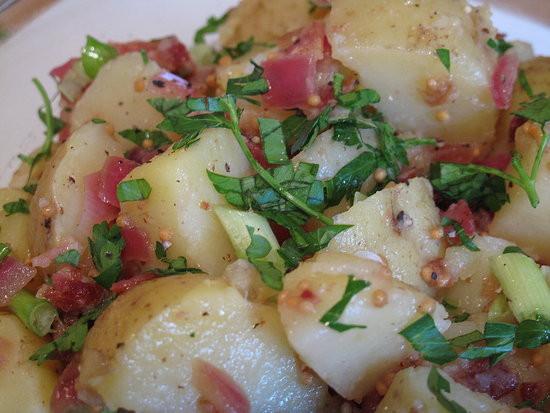 Authentic German Potato Salad Recipe  Summer of Salads German Potato Salad