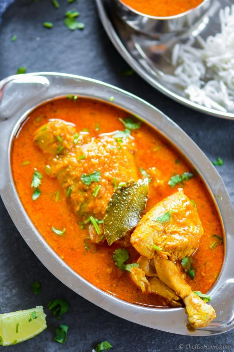 Authentic Indian Chicken Curry Recipes  Indian Chicken Madras Curry Recipe