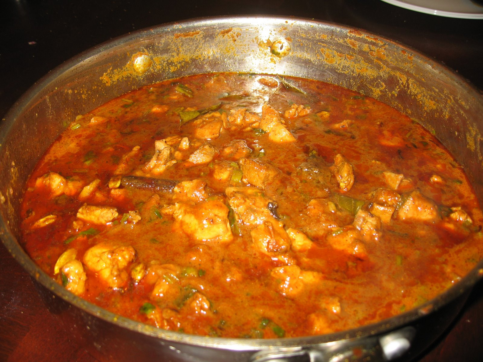 Authentic Indian Chicken Curry Recipes  South Indian Spicy Chicken Curry