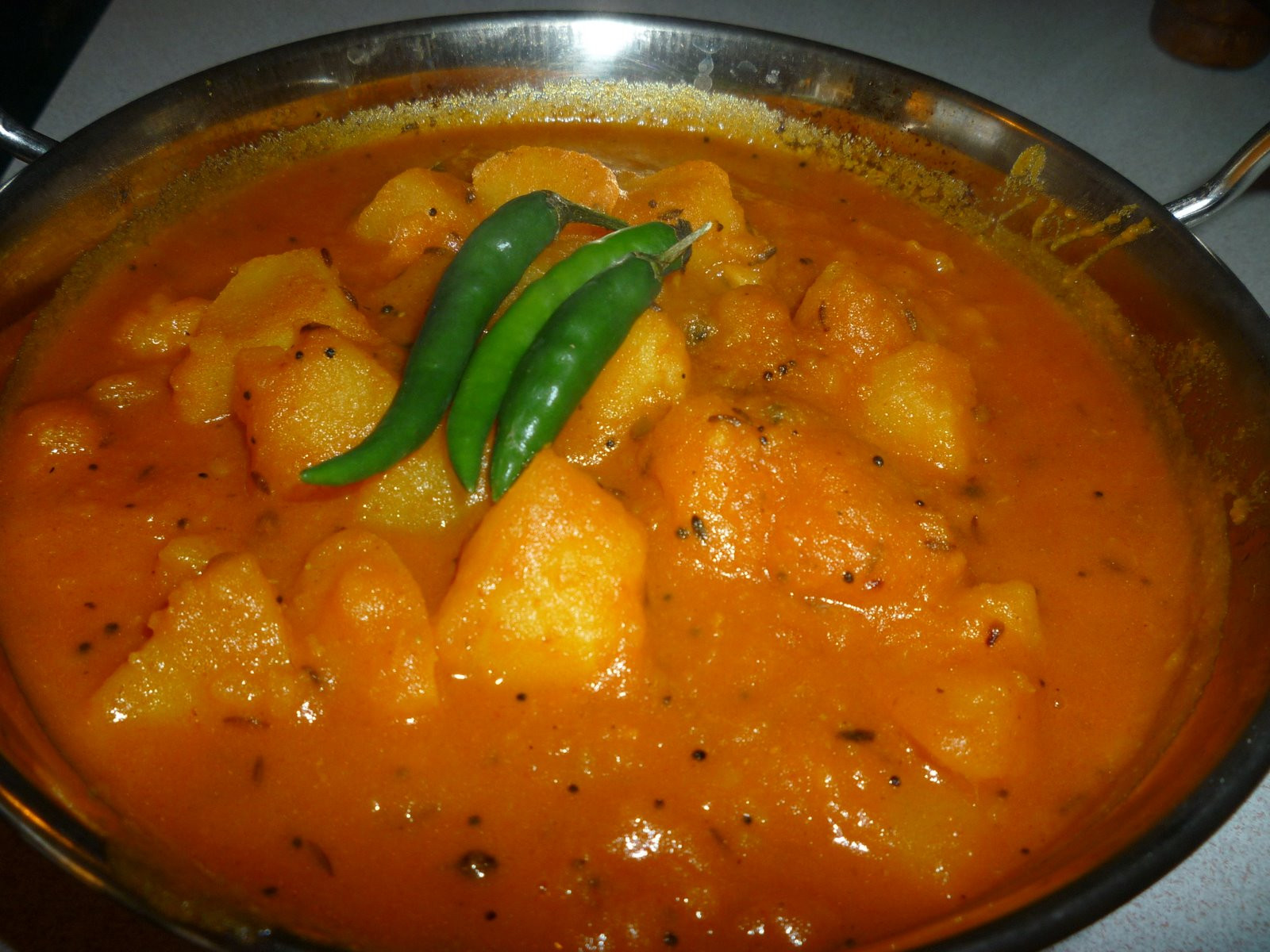 Authentic Indian Recipes  Easy peasy potato curry