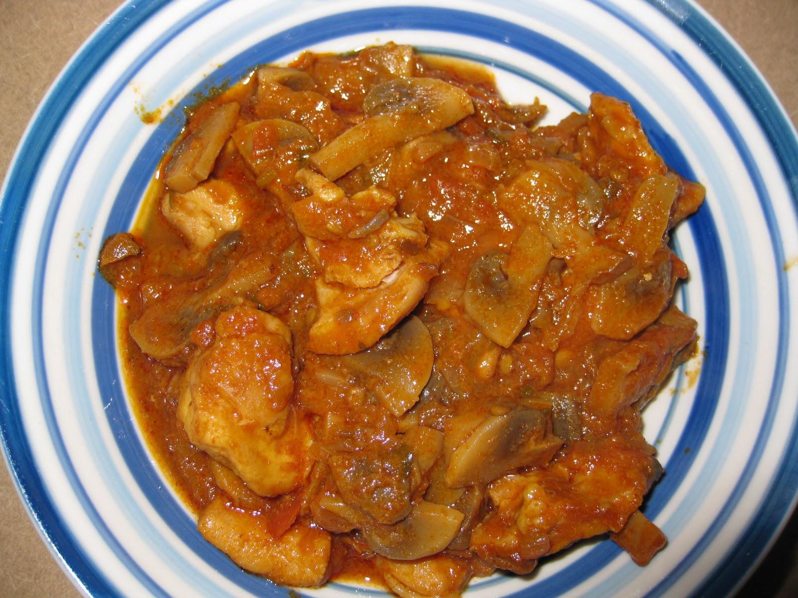 Authentic Indian Recipes  Authentic Indian Recipes MUSHROOM CHICKEN