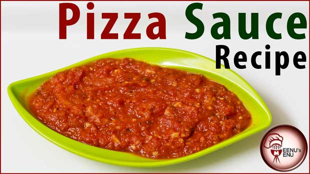 "Authentic Italian Pizza Sauce Recipe  Homemade Pizza Sauce Recipe ""Easy & Quick"""