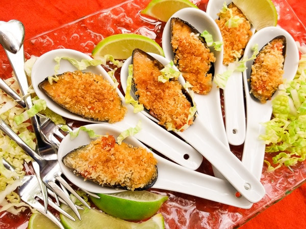 Authentic Mexican Appetizers  Easy Mexican Asian Baked Mussels