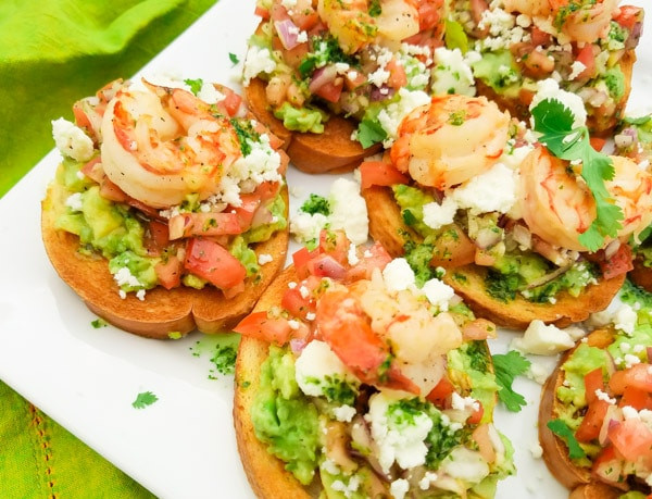 Authentic Mexican Appetizers  Mexican Bruschetta Recipe