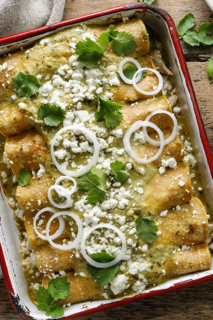 Authentic Mexican Enchiladas  25 best ideas about Authentic chicken enchilada recipe on