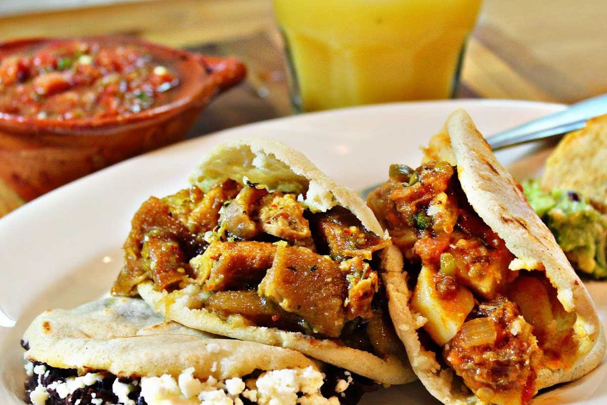 Authentic Mexican Food Recipes  How to Make Gorditas Mexipes