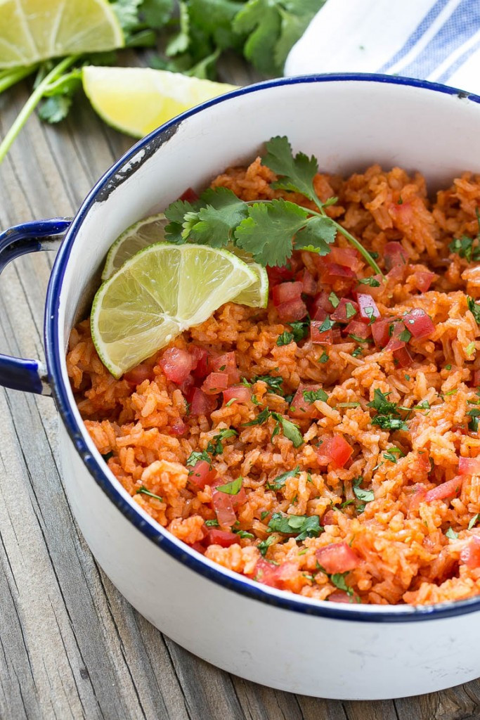 Authentic Mexican Food Recipes  authentic mexican rice and beans recipe