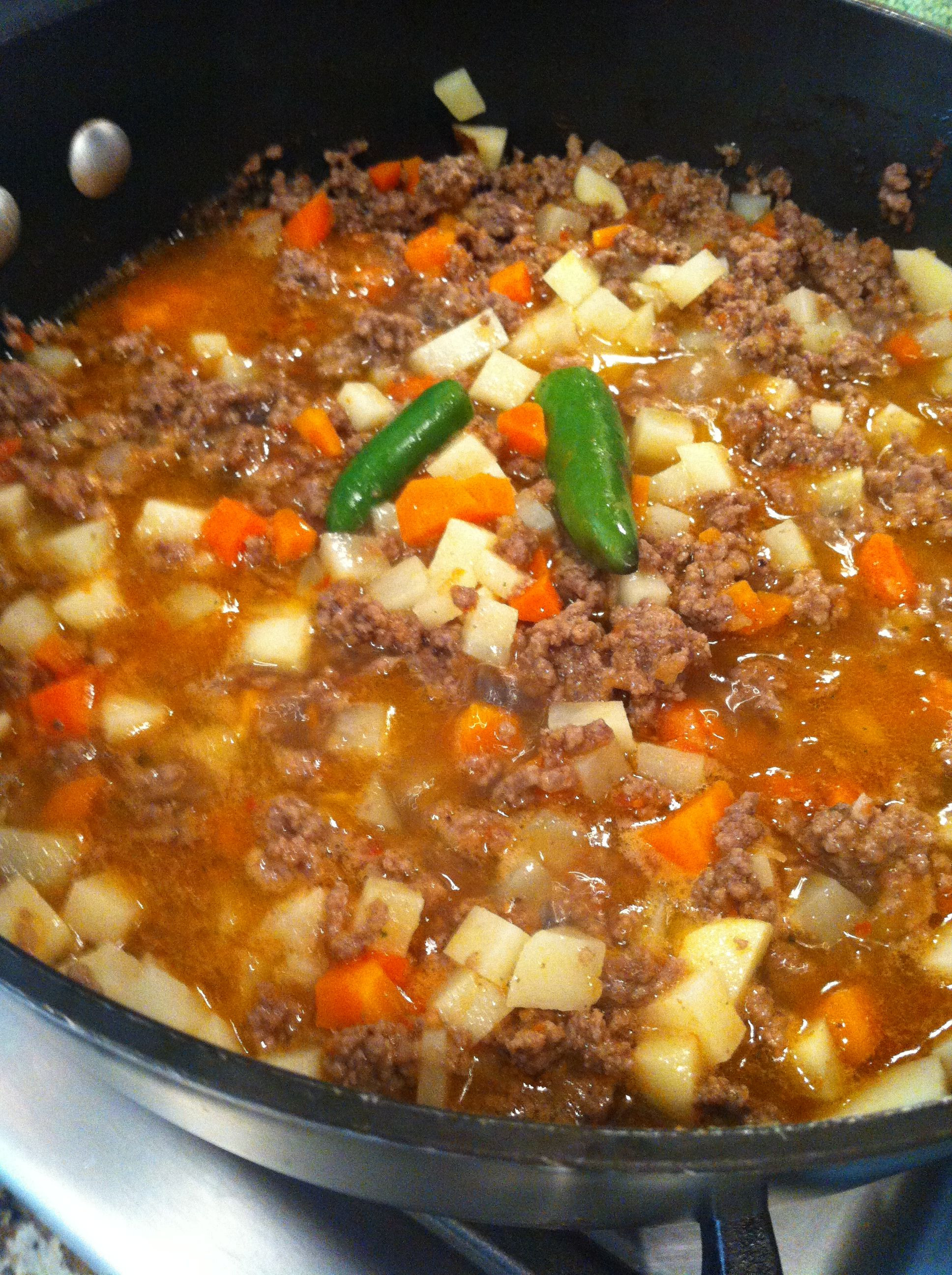 Authentic Mexican Food Recipes  authentic mexican picadillo recipe