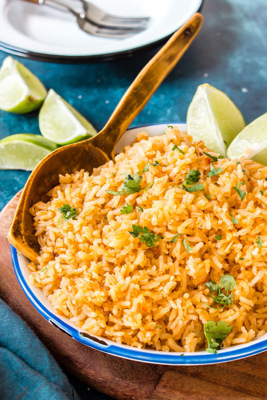 Authentic Mexican Rice  Authentic Mexican Rice thestayathomechef