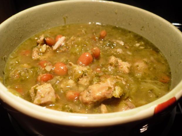 Authentic Pork Green Chili Recipe  authentic chili verde slow cooker recipe